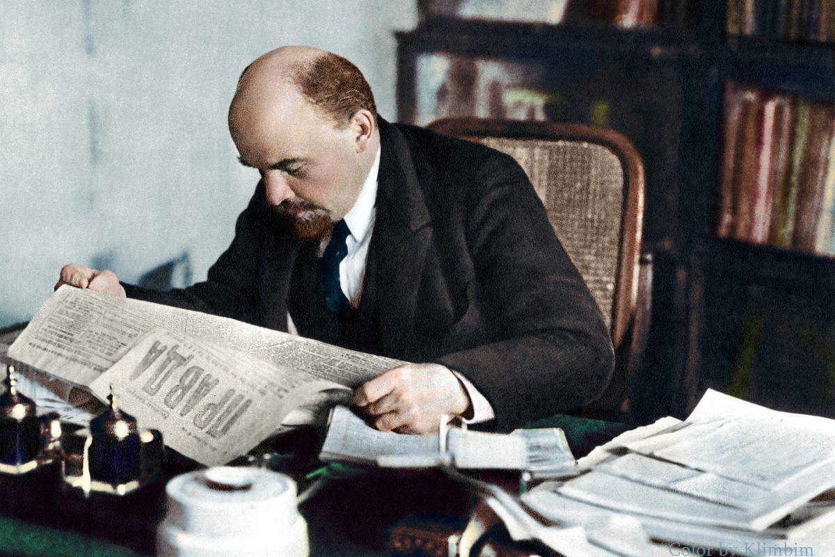 """Lenin"" Ferdynanda A. Ossendowskiego"